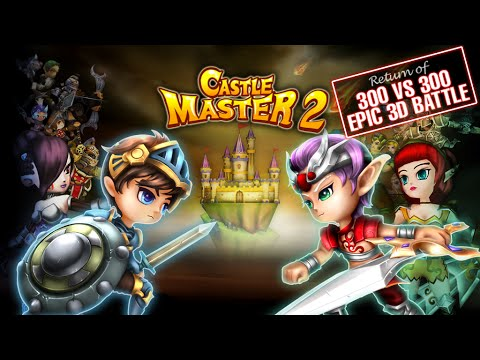 Castle Master 2 Android GamePlay Trailer (HD) [Game For Kids]