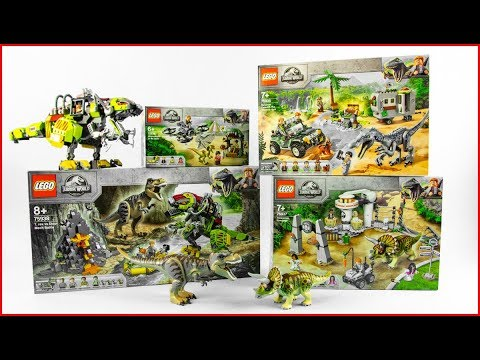 lego-jurassic-world-compilation-all-jurassic-world-2019-sets---unboxing