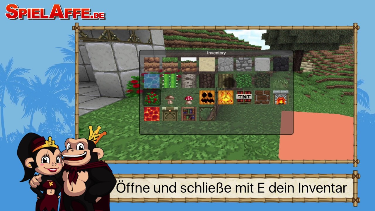 Mine Clone Trailer Tipps Und Tricks SpielAffede YouTube - Spielaffe mit minecraft