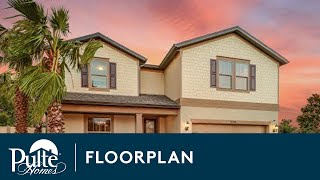 New Homes by Pulte Homes – Citrus Grove Floor Plan