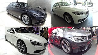 All new Luxury sedans 2016, 2017 BMW 7, 6, 5, 4, 3 series