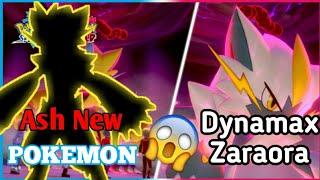 Zoraora Pokemon New Dynamax Form    Ash New Pokemon .