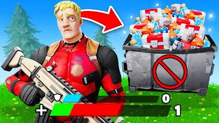 The NO HEALING CHALLENGE in Fortnite!