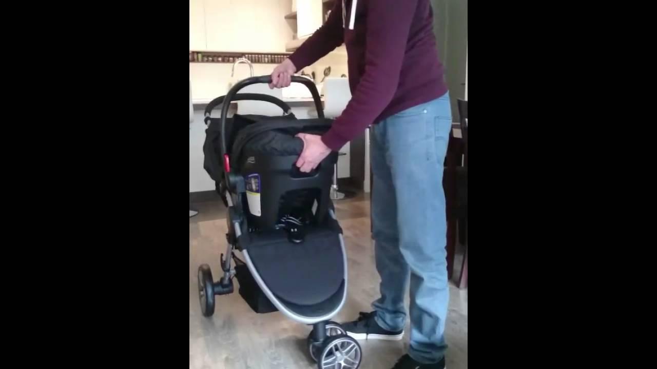 Britax B Agile Stroller B Safe Car Seat Travel System Youtube