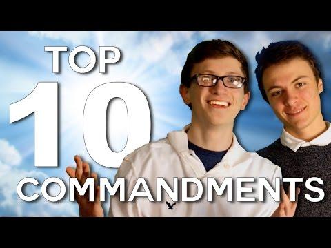 Top 10 Commandments