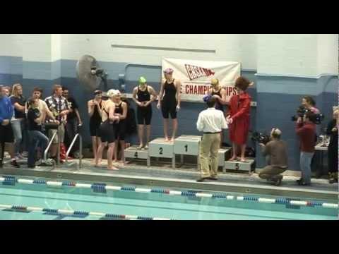 Missy Franklin Colorado State Championship Race: 100 Backstroke