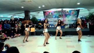 ZISTAR (SISTAR Dance Cover) - I Swear + Touch My Body (remix.ver) at DMall 141228
