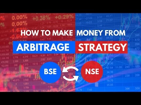 How to Make Money from Arbitrage between BSE & NSE?