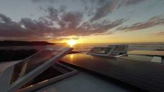 Outbound Roof Windows Timelapse