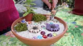 How To Make A Fairy Garden