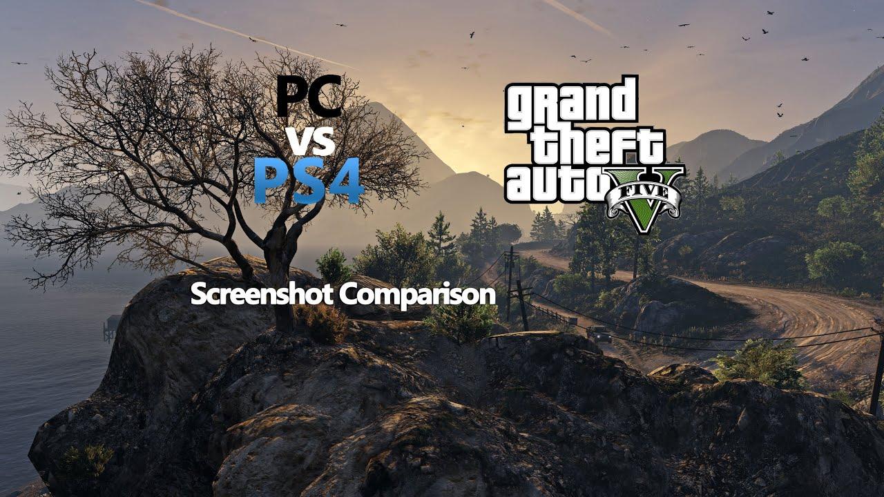 GTA V PS4 VS PC 4K Screenshot Comparison