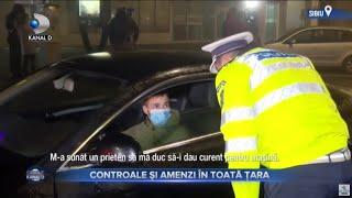 Stirile Kanal D (10.11.2020) - Controale si amenzi in toata tara! | Editie de pranz