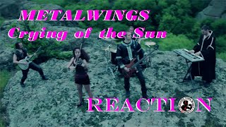 METALWINGS Crying Of The Sun REACTION