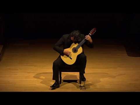 Fourth Annual Steve Schulman Award Recital – Misael BarrazaDíaz, guitar