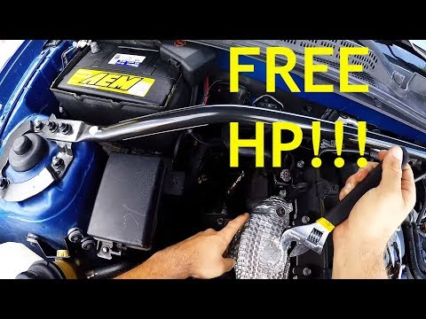 HOW TO Hyundai Genesis Coupe Turbo Wastegate Mod in 5 MINUTES