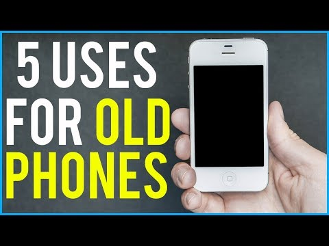 5 USES FOR OLD PHONES - Do This Before Recycling!