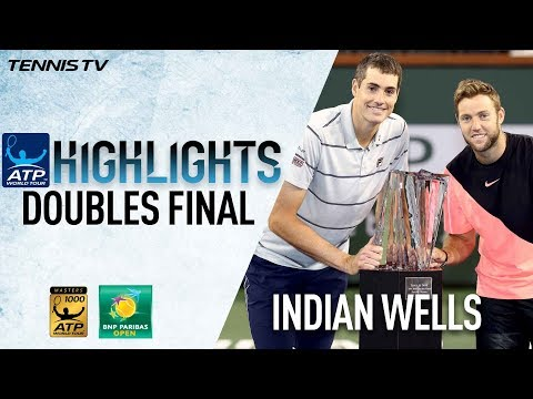Highlights: Isner, Sock Lift Indian Wells Doubles Title