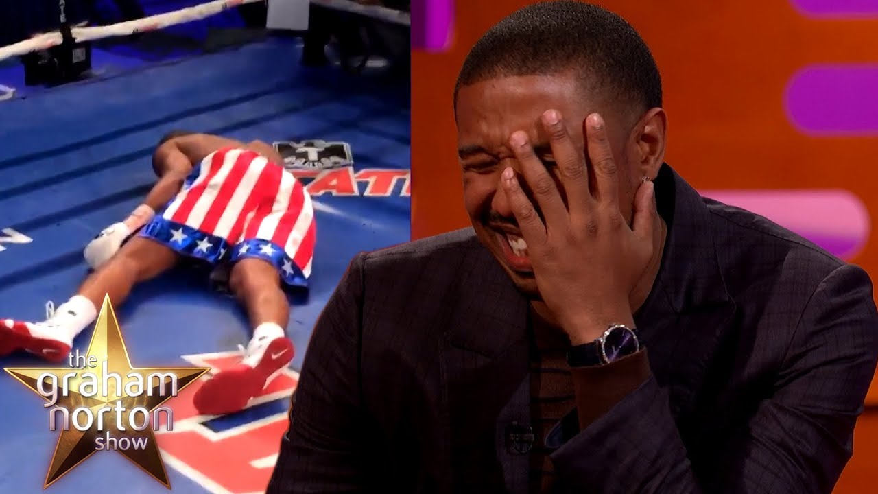 Download Michael B. Jordan Took A REAL PUNCH From Tony Bellew in Creed!   The Graham Norton Show
