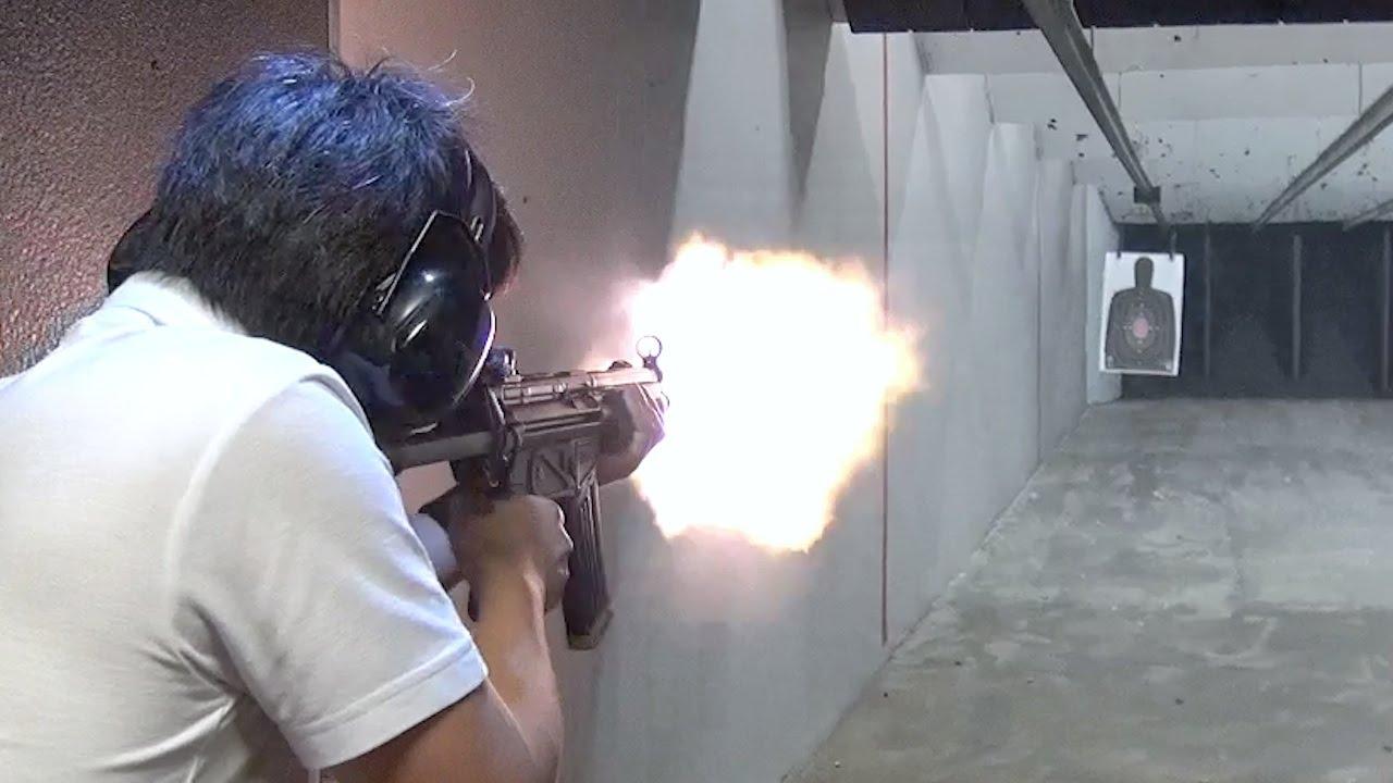 実弾射撃 H&K HK53 セミ/フルオ...
