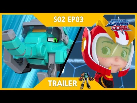 Thumbnail: [DinoCore] Trailer | A-yo! I'm Mammoth Core! | Robot Animation | Season 2 EP03