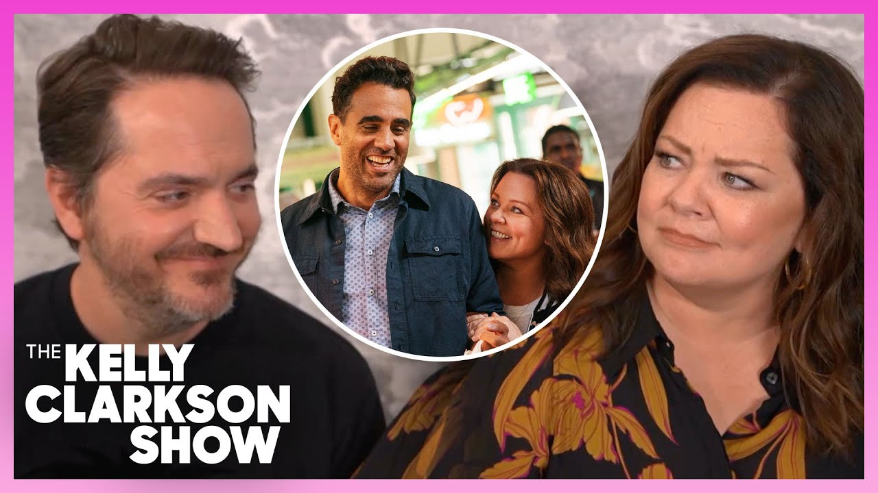 Melissa McCarthy Feels Weird Kissing Actors In Front Of Husband Ben Falcone