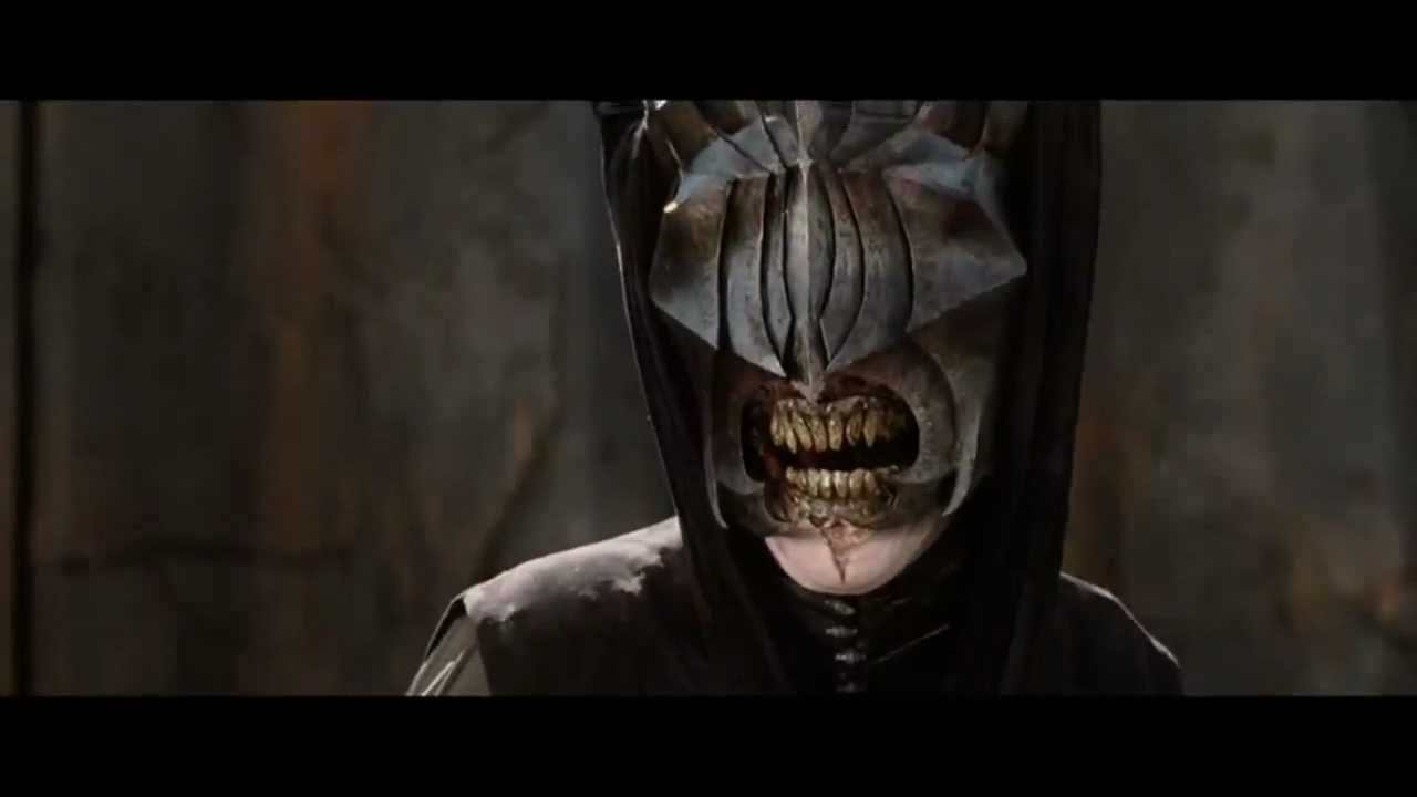 Lord Of The Rings Deleted Scenes Aragorn Vs Sauron