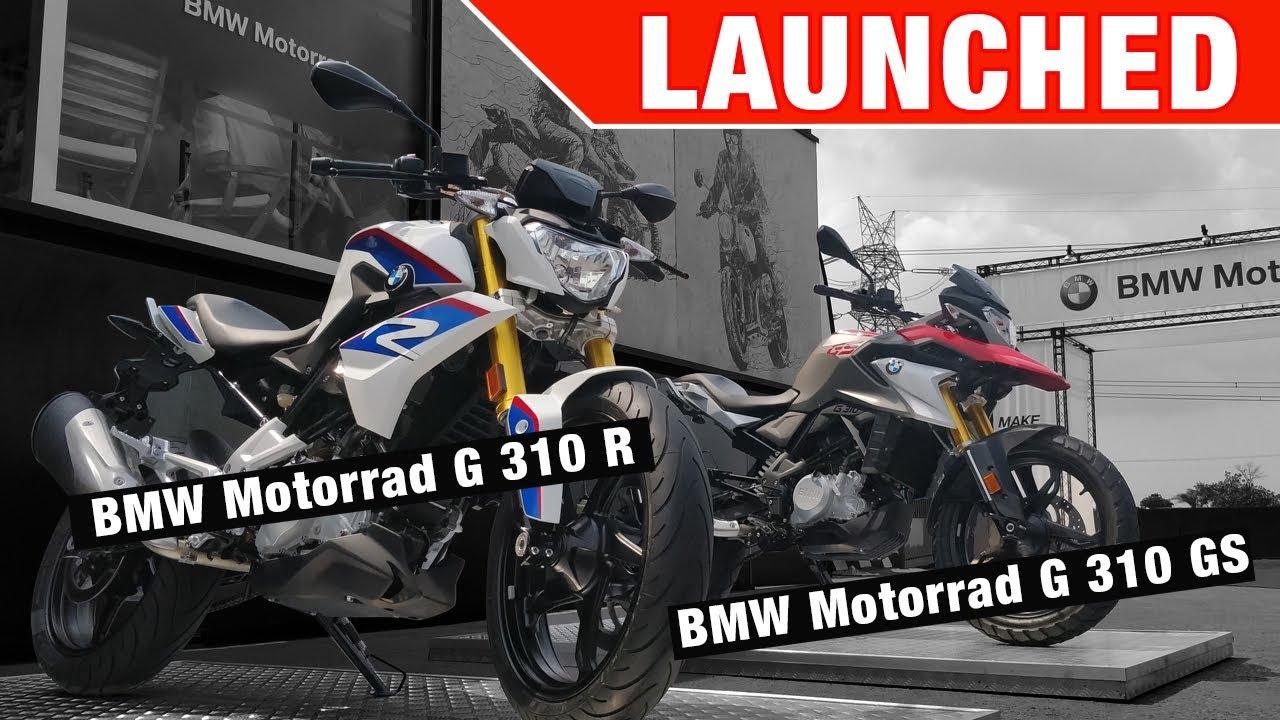 Modish BMW Motorrad G 310 R and G 310 GS - Launch, Price, Quick II19