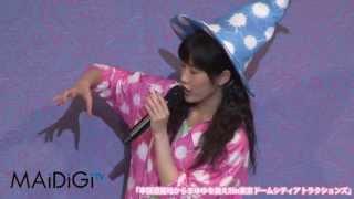 アイドルグループ「AKB48」の渡辺麻友さんが7月24日、テーマパーク「東...