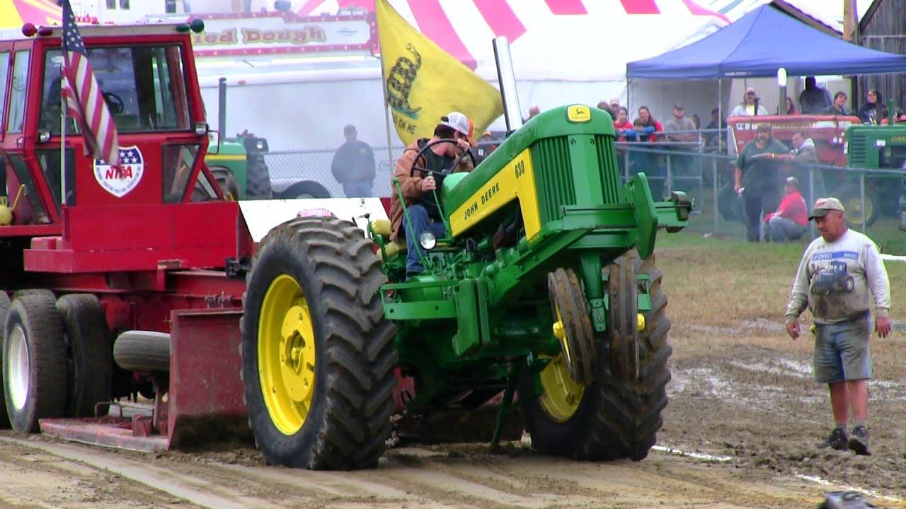 Antique Tractor Pull Tractors : John deere antique tractor pull deerfield fair nh