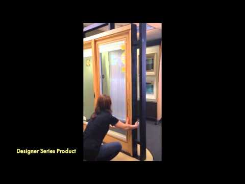 Pella Designer Series Sliding Patio Door Instructions - YouTube