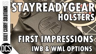 STAYREADYGEAR Holsters - Unboxing / First Impressions (& CZ P-10c)