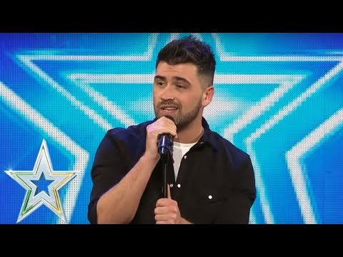 Christopher King goes country and gets a Golden Buzzer  Auditions Series 1  Ireland&39;s Got Talent