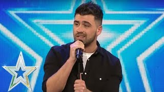 Download lagu Christopher King goes country and gets a Golden Buzzer | Auditions Series 1 | Ireland's Got Talent