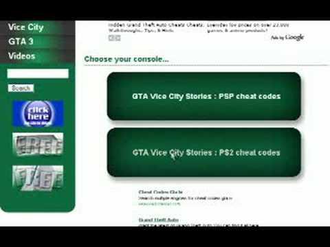 Vice City Cheat Codes Ps2