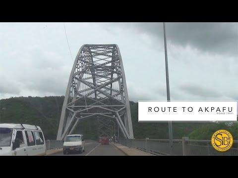 Road Trip - Accra to Akpafu Todzi {Ghana}