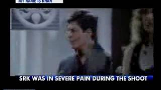 My Name is Khan SRK KING KHAN IN PAIN SHOOTING IAMSRK ON TWITTER