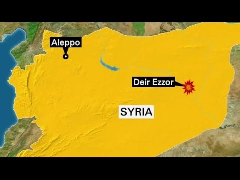 Reports: 80+ killed in US-led airstrikes in Syria