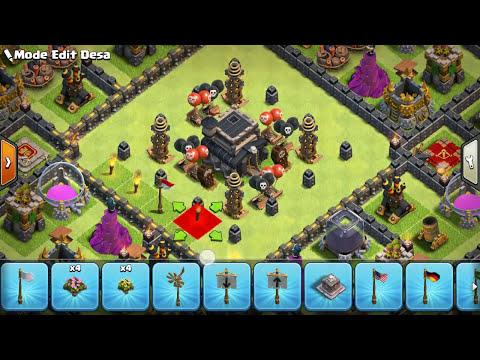 New 2017 | base coc th 9 terkuat | base coc th 9 terbaik | clash of clans