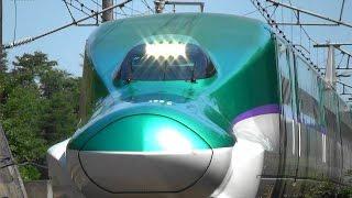 2016 東北新幹線映像集 怒涛の50連発!迫力の高速通過編 Tohoku Shinkansen, the fastest train in Japan!