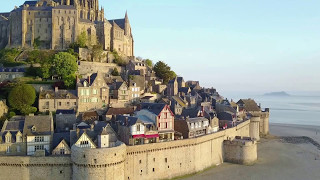 The incredibly Beautiful Mont Saint-Michel, France in HD by Drone DJI Mavic