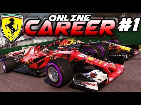 F1 2017 Online Career Mode Part 1: A NEW CHALLENGE BEGINS!