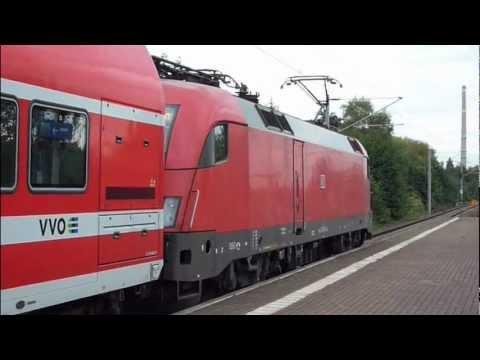 [HD] BR 182 Taurus Abfahrten als S1 in Dresden mit Musik / Taurus departure with music scale