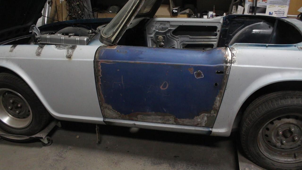 1973 Triumph Tr6 Restoration Project Part 8 Youtube