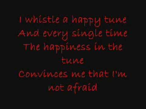 I Whistle A Happy Tune Karaoke