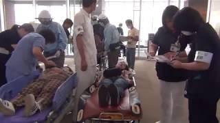 小樽市立病院で災害実働訓練実施画像