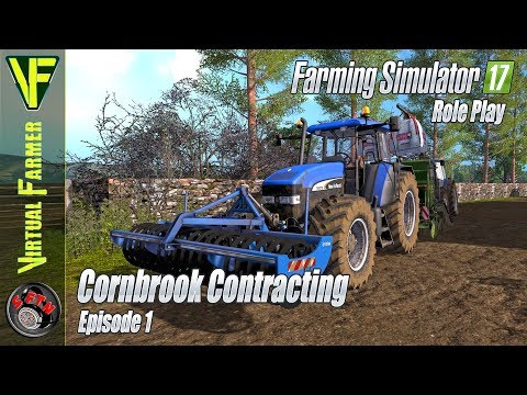 Let's Get Started! | Cornbrook Contracting, Episode 1: Farming Simulator 17 Role Play