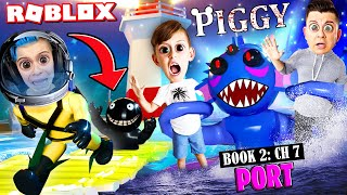 ROBLOX PIGGY book 2 chapter 7: THE PORT | New skins, monster and abilities