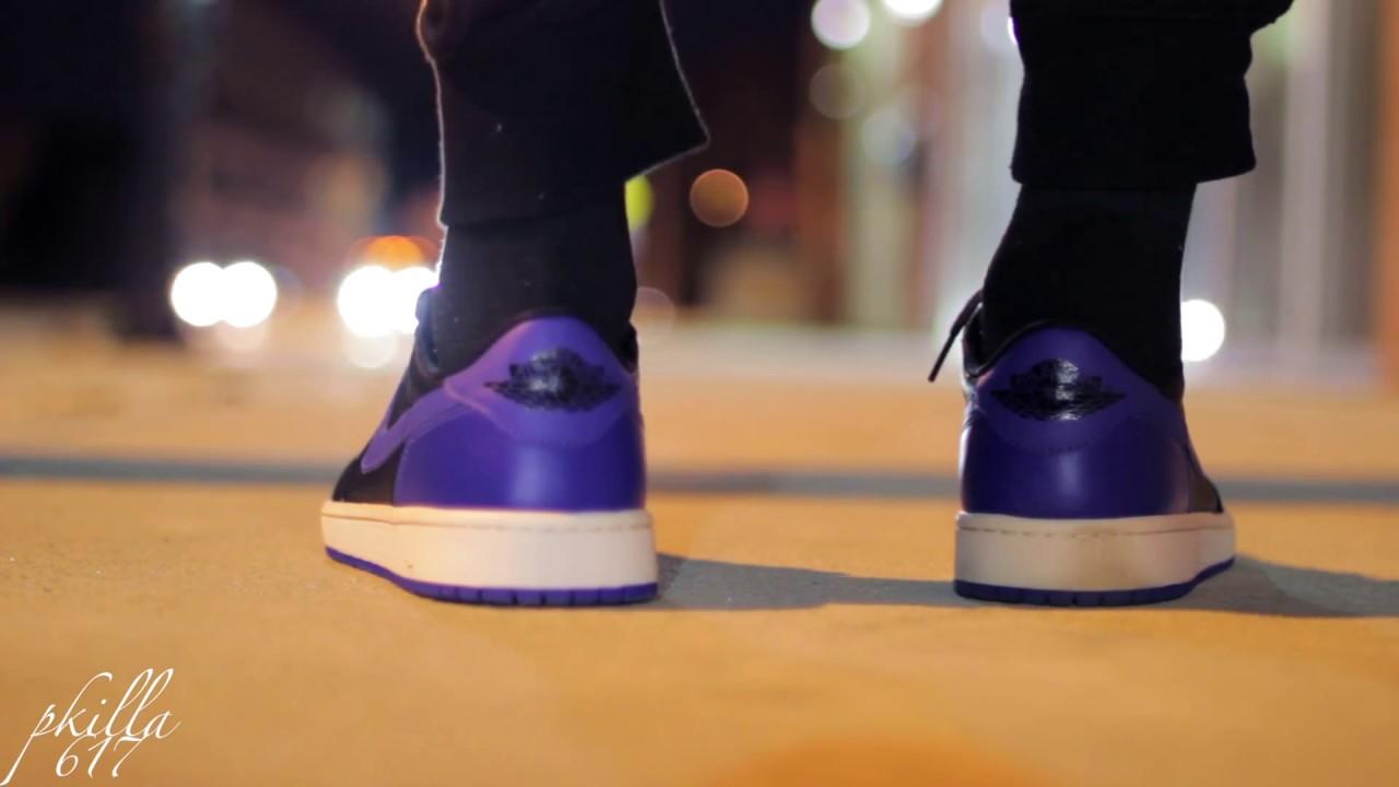 57806fff5397f7 Air Jordan 1 Retro Low OG  Royal  On Feet! - YouTube
