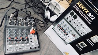 Behringer XENYX 802 Mixer REVIEW & Set Up - Best Compact Mixer?
