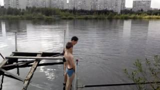 Мы купаемся сальтуха